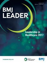 BMJ Leader: 1 (Suppl 1)