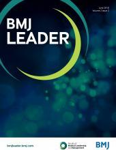 BMJ Leader: 2 (2)