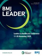 BMJ Leader: 4 (Suppl 1)
